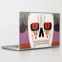 fear Laptop & iPad Skins featuring Fear by Jack Teagle