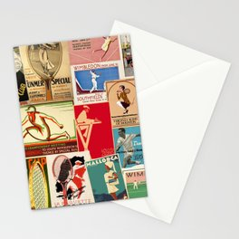 Tennis Stationery Cards