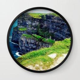 Cliffs of Moher 2 Wall Clock