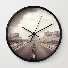 Road to the Giants Wall Clock