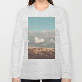 Big Sky Fence Line Long Sleeve T-shirt