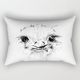 Ostrich Rectangular Pillow