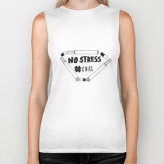 No Stress, Chill Biker Tank