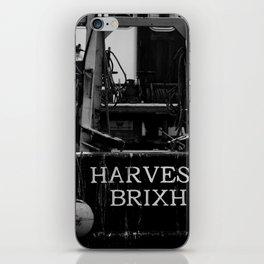 Harvester Brixham Fishing Boat iPhone Skin