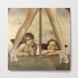 Not so Little Angels Metal Print