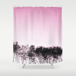 Lovely pink sky Shower Curtain
