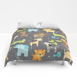 Jungle Animals Comforters