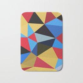 Geometric Abstract Art Pattern Eleven Bath Mat
