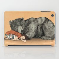 shipping iPad Cases featuring Huntress by Sandra Dieckmann
