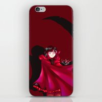 rwby iPhone & iPod Skins featuring RWBY - The Grimm Reaper by nerdgasmz