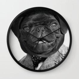 Sir Winston Pug Churchill Wall Clock