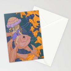 Deep Sea Stroll Stationery Cards