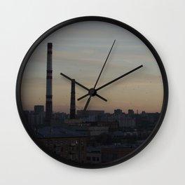 Moscow, 32nd Floor Wall Clock