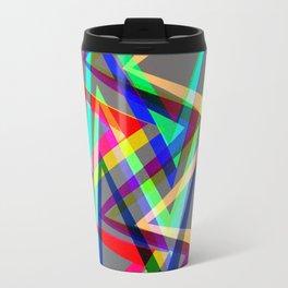 Digital drawing - colors Travel Mug
