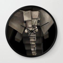 Elephant² Wall Clock