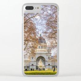 Royal Exhibition Centre Melbourne (Autumn) Clear iPhone Case