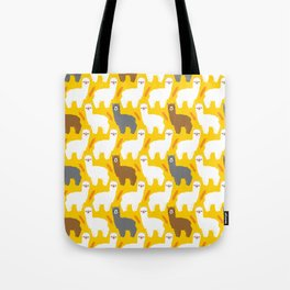 The Alpacas Tote Bag