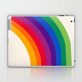 Groovy - rainbow 70s 1970s style retro throwback minimal happy hippie art decor Laptop & iPad Skin