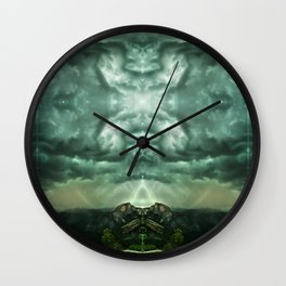 Heavenly Doorways Wall Clock
