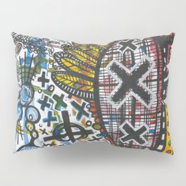 Feathers or Rockets Pillow Sham
