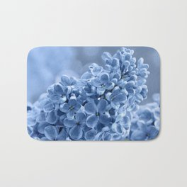 Lilac blue 281 Bath Mat