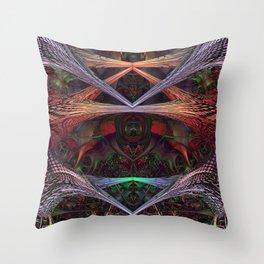 Xeno 2 Throw Pillow