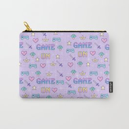 Game On (pastel) Carry-All Pouch