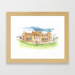 The Reichstag Framed Art Print