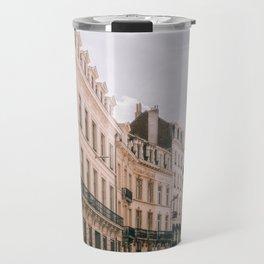 Beautiful Old Architecture in Brussels Belgium Travel Mug