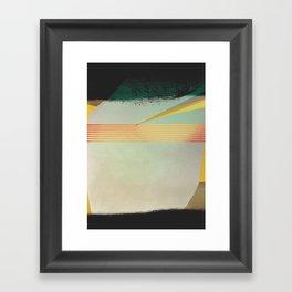 go away, black clouds Framed Art Print