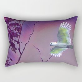 Lost Bird Rectangular Pillow