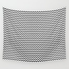 Chevron Grey Wall Tapestry