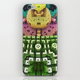 Brain 6 iPhone Skin