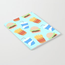 Burgers & Fries Notebook