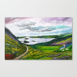 The Sheepdog at Loch Lomond Canvas Print