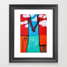 Togetherness 1 Framed Art Print