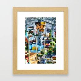 Go Diego Go! Framed Art Print