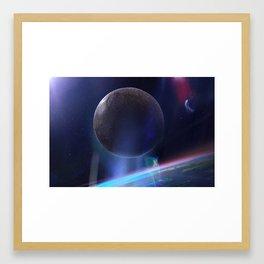 PLANET Z Framed Art Print