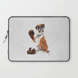 The Boxer (Wordless) Laptop Sleeve