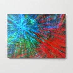 Abstract Big Bangs 001 Metal Print