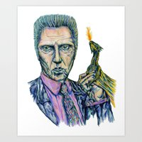 Christopher Walken, Dragon- Lord Art Print