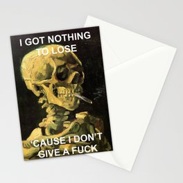 Skull of the Maestro Stationery Cards