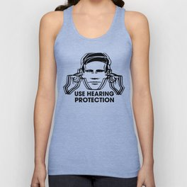 FAC 1 tribute - Factory Records - Use Hearing Protection Unisex Tank Top