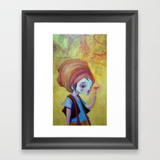 Flying Circus Framed Art Print