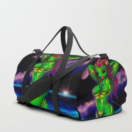 Alien Gone Wild Duffle Bag