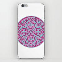persian iPhone & iPod Skins featuring Persian circle by Osgarr