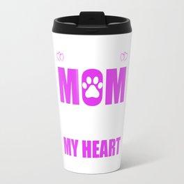 Rescue Moms Full Heart Mothers Day T-Shirt Travel Mug