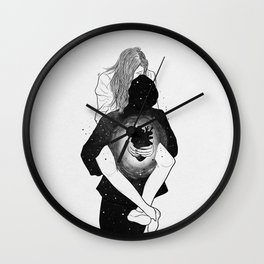 I owe your heart. Wall Clock