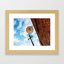 Eye in the Sky Framed Art Print
