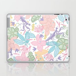 floral pastel spring dreams Laptop & iPad Skin